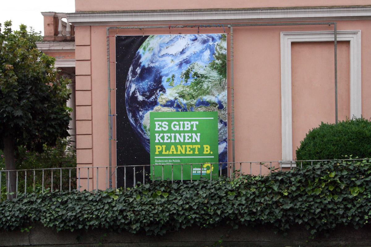 Es gibt keinen Planet B.