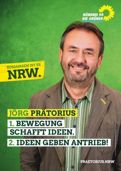 Plakat von Jörg Prätorius