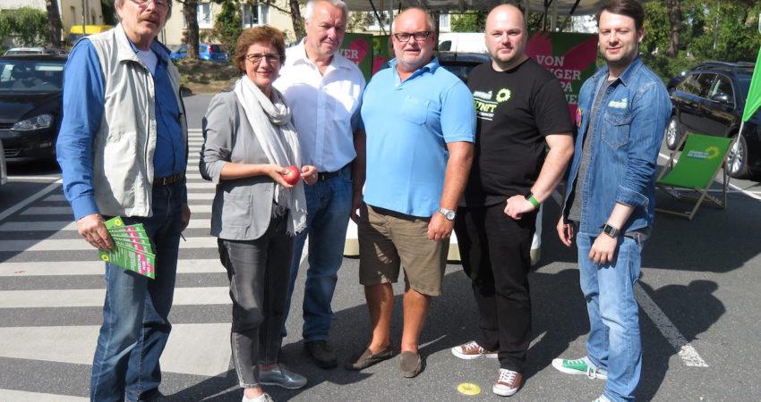 Grüner Wahlkampf mit Britta Haßelmann in Enger