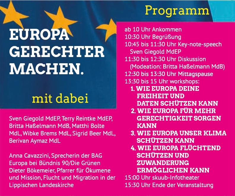 Der GRÜNE Europakongress