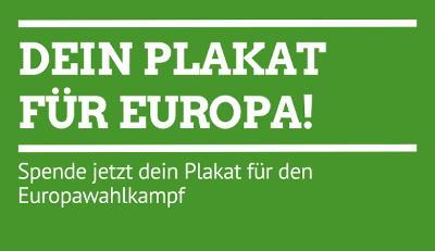 Deine Plakat für Europa