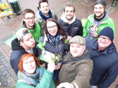 Grüne Jugend NRW Kirschblütenfest 2019