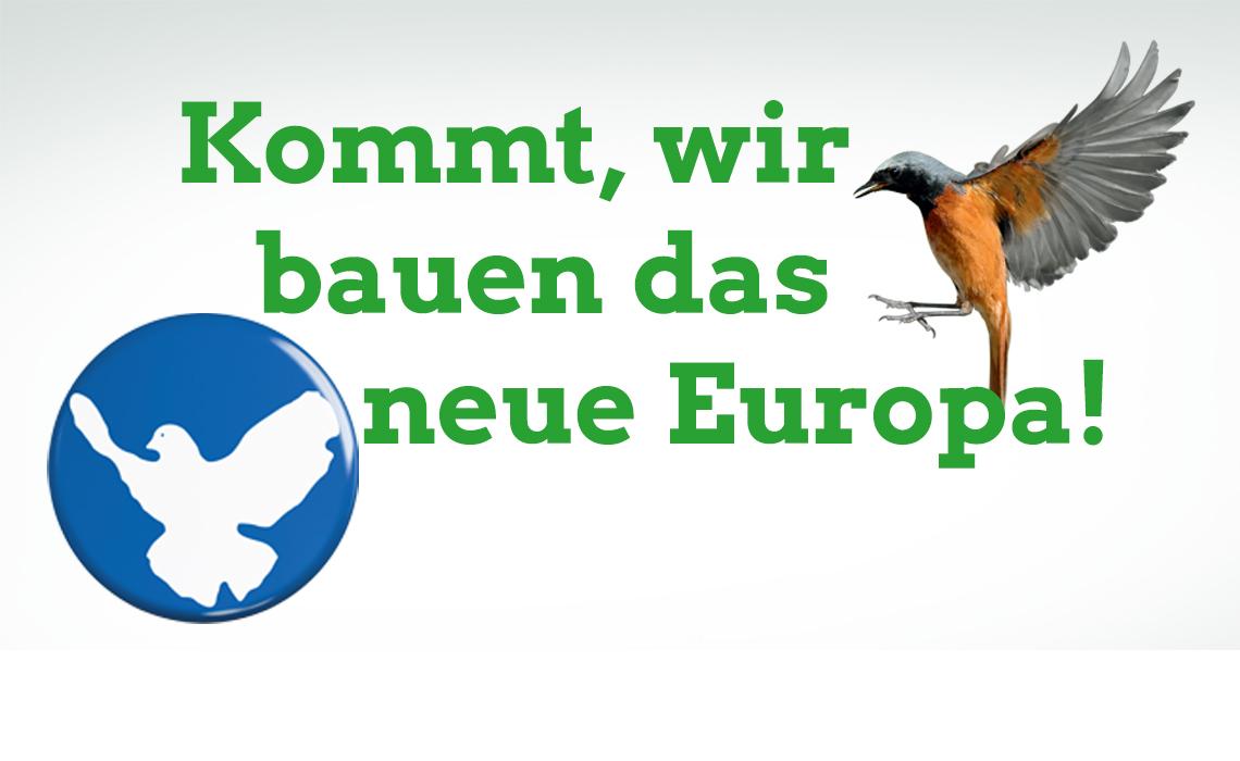 Grünes Europawahlprogramm kompakt