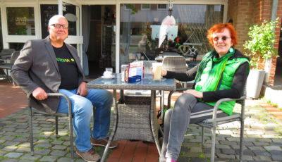 Haben noch Platz in ihrer Mitte: Thomas Griese und Regine Steffen